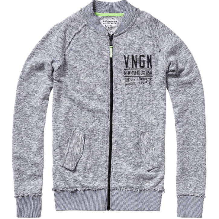 Vingino Teens Sweat-Jacke OTSO grey mele