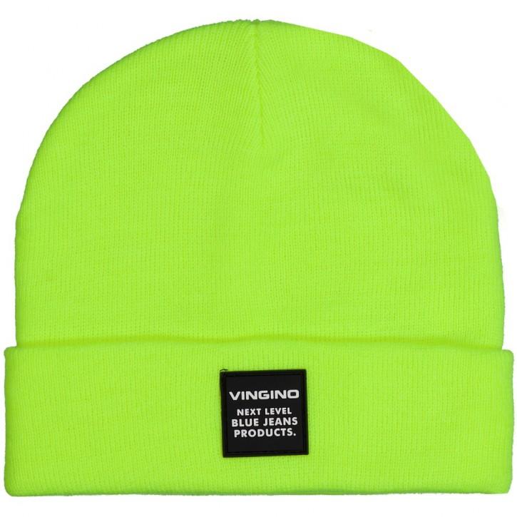 Vingino Winter-Mütze / Beanie VASTIN neon yellow