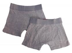 Vingino Boys Basic Boxer/Short 2er-Pack grau