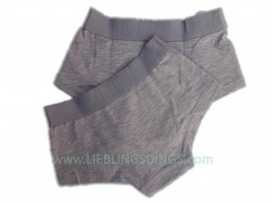 Vingino Basic Short Girls 2er-Pack grau