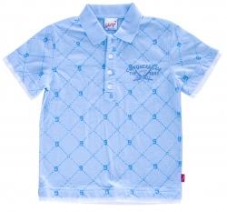 Whoopi Poloshirt aqua blue