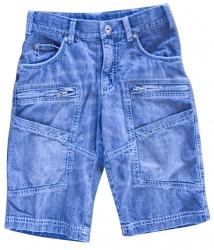 Whoopi Jeans-Bermuda blue denim