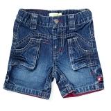 Ducky Beau Bermuda Jeans-Hose Denim