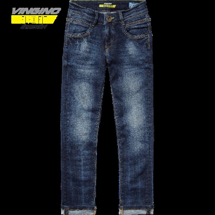 Vingino Jungs Skinny flex fit Jeans ARMANNO dark used