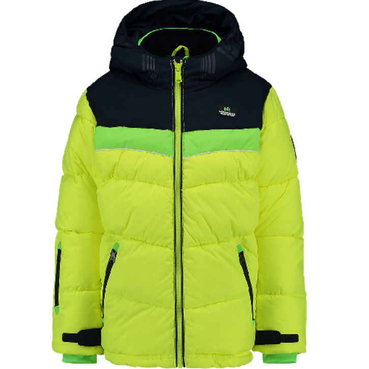 Vingino Winter-Jacke mit Kapuze THEOS neon yellow