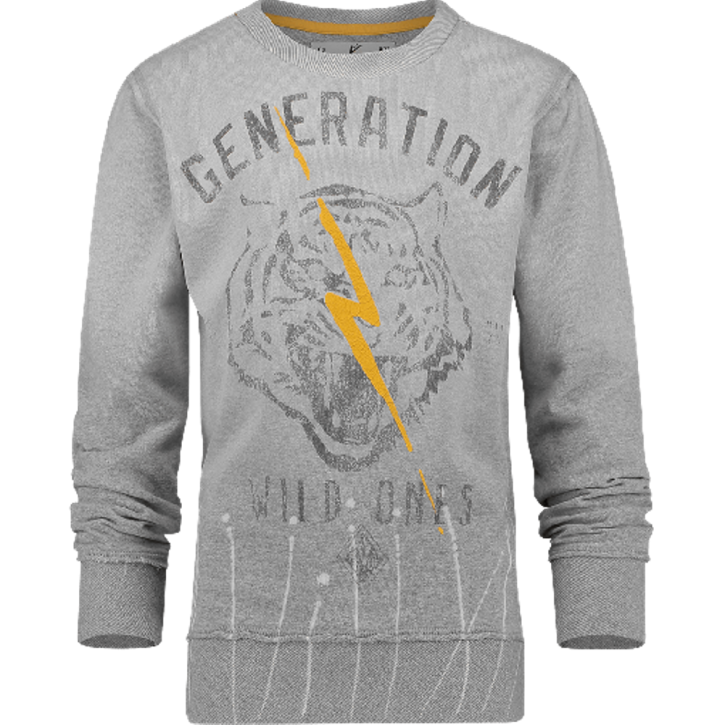 Vingino Sweat-Shirt/Sweater NUOD light grey mele