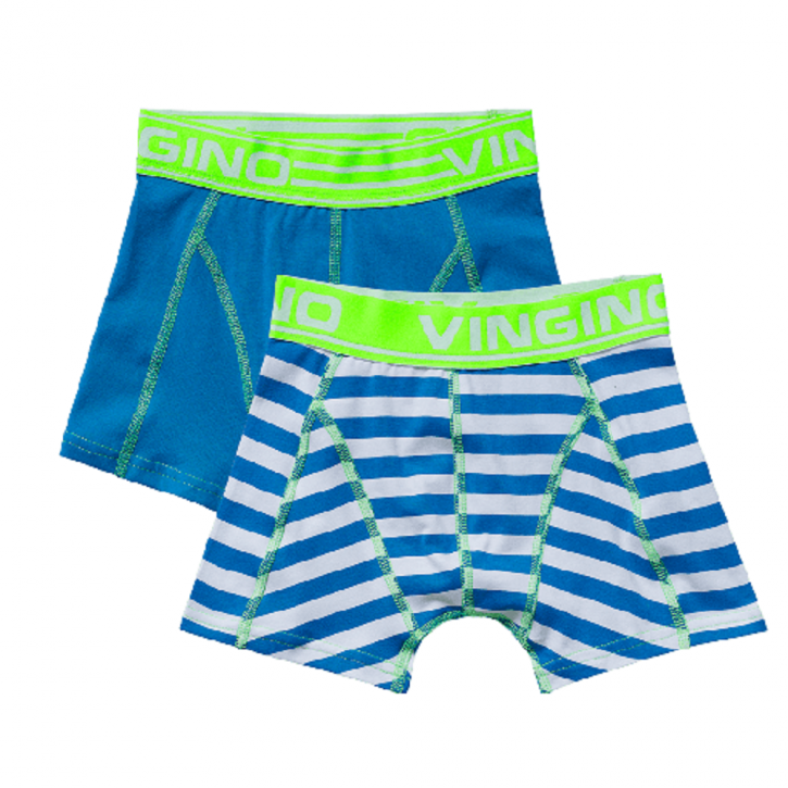 Vingino Boxer/Short 2er-Pack BLUE ibiza blue
