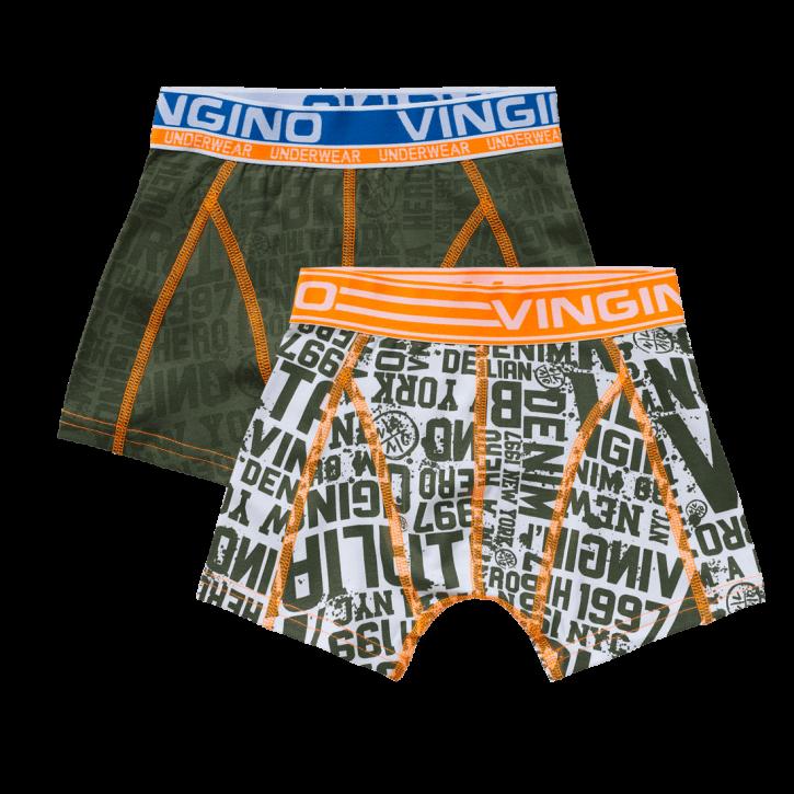 Vingino Boxer/Short 2er-Pack NYC army moss