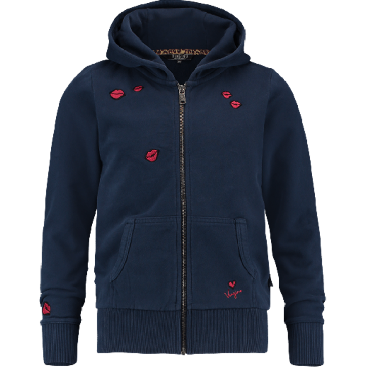 Vingino Kapuzen-Sweat-Jacke NOAKIM dark blue