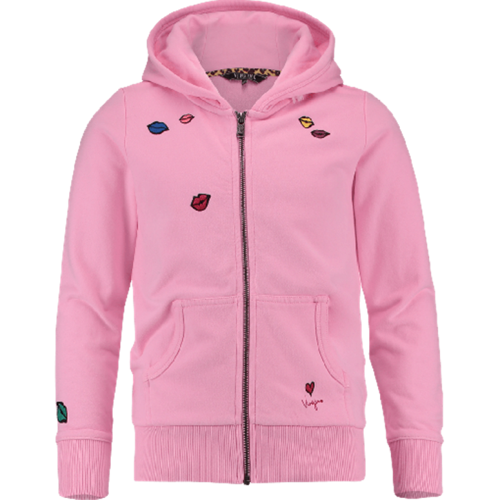 Vingino Kapuzen-Sweat-Jacke NOAKIM hot lips