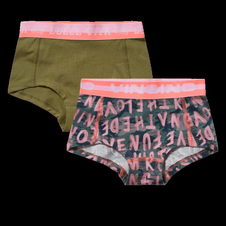 Vingino Hipster/Short 2er-Pack KAMIE army green