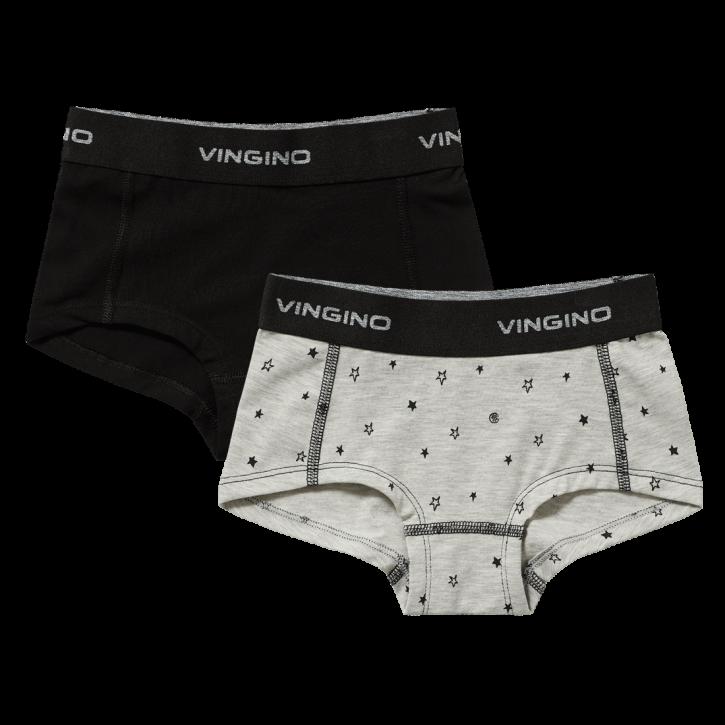 Vingino Hipster/Short 2er-Pack ILONA grey mele