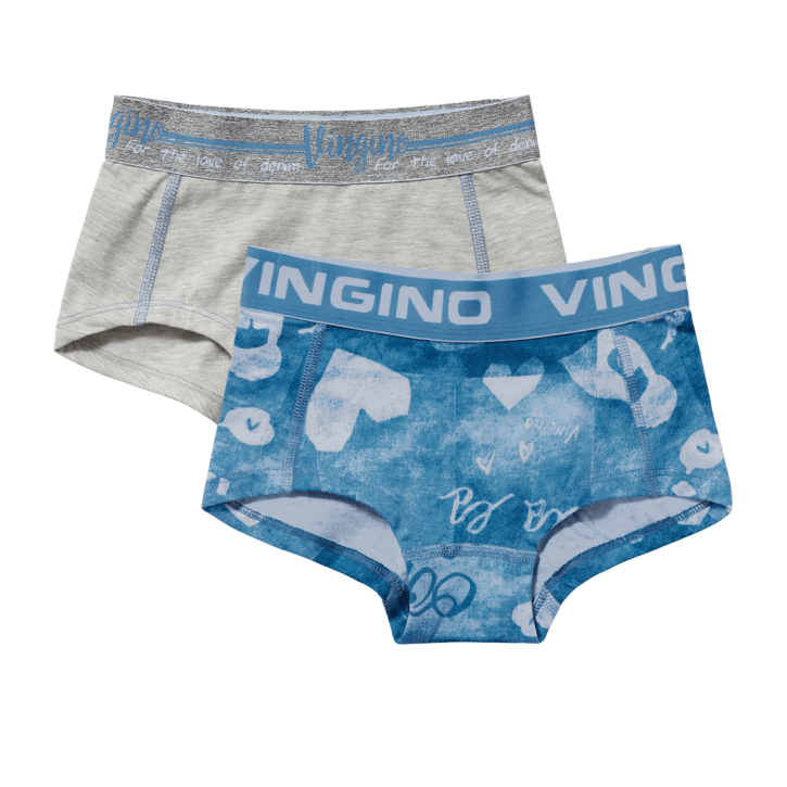 Vingino Hipster/Short 2er-Pack OOHLALA denim blue