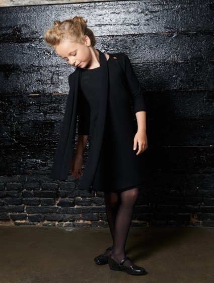 Baker Bridge Kleid DEMI schwarz