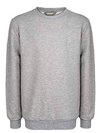 Blue Effect Sweat-Shirt hellgrau melange