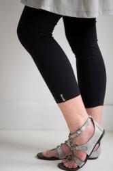 Bonnie Doon Damen Slim Fit Basic Legging schwarz
