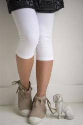Bonnie Doon Damen Capri Legging schwarz