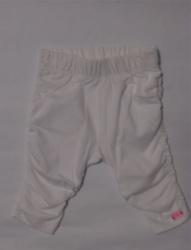 Carbone Mini Raff-Legging weiss