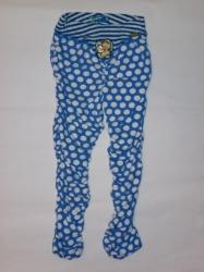 Carbone Raff-Legging Polka Dot blau-weiss