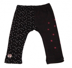 Carbone Legging Stars schwarz