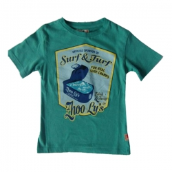 CKS T-Shirt GANG aqua green