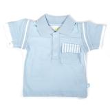 Ducky Beau Polo-Shirt hellblau