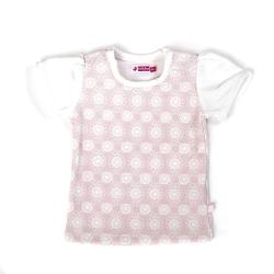 Ducky Beau T-Shirt weiss-rosa