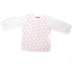 Ducky Beau Shirt / Longsleeve weiss-rosa