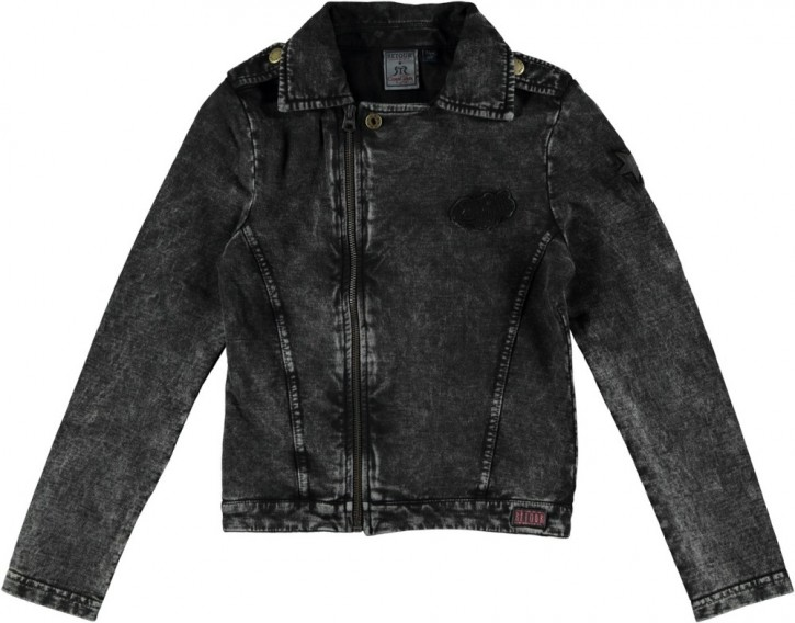 RETOUR Sweat-Biker-Jacke ENYA black