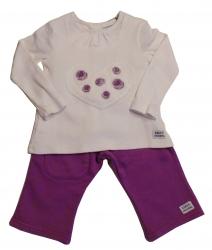 Keedo Shirt mit Legging 2tlg. aster-rose