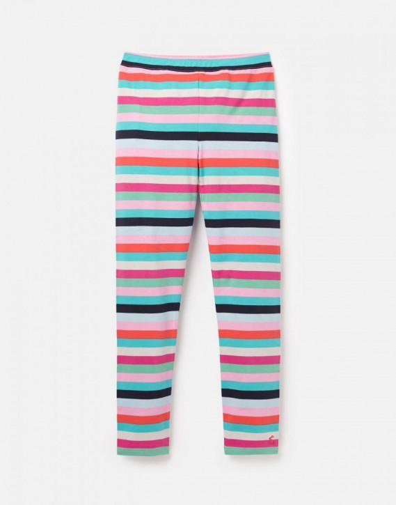 Joules Mädchen Legging DEEDEE Streifen pink multicolor