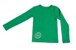Kiezel-tje Basic-Shirt / Longsleeve grün