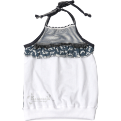 Kiezel-tje Neckholder-Top rafblue
