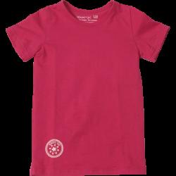 Kiezel-tje Basic-T-Shirt pink mit Print