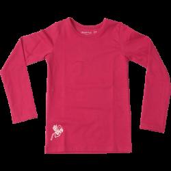 Kiezel-tje Basic-Langarmshirt/Longsleeve cerise