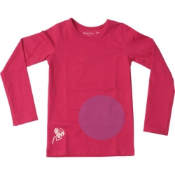 Kiezel-tje Basic-Langarmshirt/Longsleeve pink