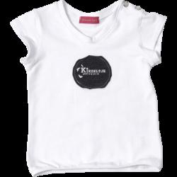 Kiezel-tje Shirt weiss mit Logo