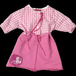 Kiezel-tje Kleid Karo pink-weiss