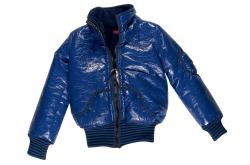 Kiezel-tje Lack-Winterjacke cobalt