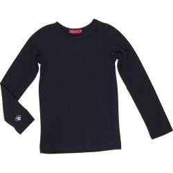 Kiezel-tje Basic-Langarmshirt/Longsleeve navy