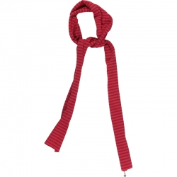 Kiezel-tje Schal Streifen rot-pink