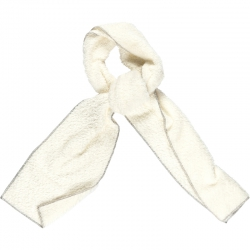 Kiezel-tje Teddy-Schal off-white