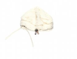 Kiezel-tje Teddy-Mütze off-white