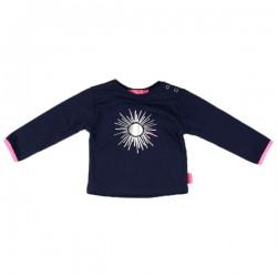 Kiezel-tje Mini Langarm-Shirt/Longsleeve Sonne dark blue