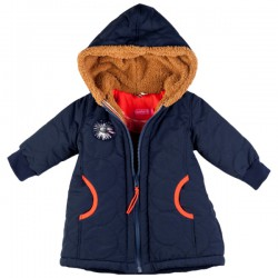 Kiezel-tje Mini Winter-Mantel/Jacke dark blue