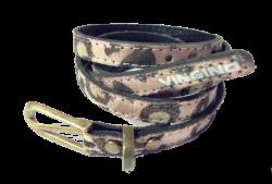 Vingino schmaler Gürtel LINA rosa/tiger