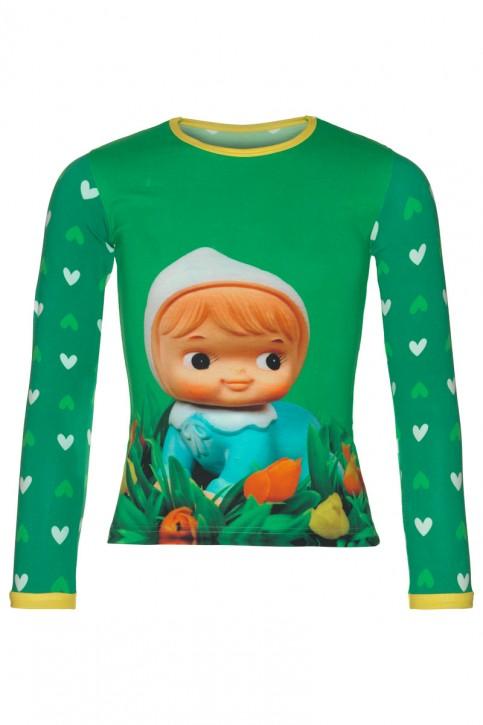 Mim-Pi Langarm-Shirt/Longsleeve Püppchen multicolor