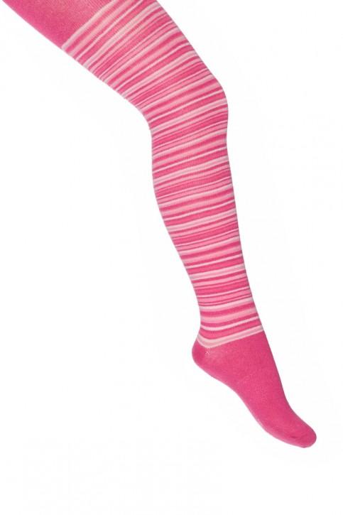 Mim-Pi Strumpfhose Streifen pink