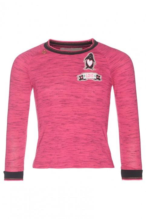 Mim-Pi Langarm-Shirt/Longsleeve pink meliert