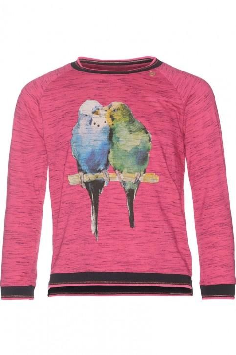 Mim-Pi Pullover/Sweater Sittiche pink meliert